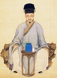 Lu Yu (Chinese: 陆羽; pinyin: Lù Yǔ, 733–804) is respected as the Sage of Tea for his contribution to Chinese tea culture.<br/><br/>  He is best known for his monumental book 'The Classic of Tea' (Chinese: 茶经; pinyin: chájīng), the first definitive work on cultivating, making and drinking tea.