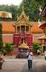 Wat Phra That Haripunchai was founded in 1044 by King Athitayarat of Haripunchai on the site of Queen Chamathewi's (Chama Thewi or Chamadevi) royal palace. Legend has it that the queen's personal quarters are enclosed in the main 46-metre high Lan Na-style chedi, covered in copper plates and topped by a gold umbrella or plee.<br/><br/>  Lamphun was the capital of the small but culturally rich Mon Kingdom of Haripunchai from about 750 AD to the time of its conquest by King Mangrai (the founder of Chiang Mai) in 1281.